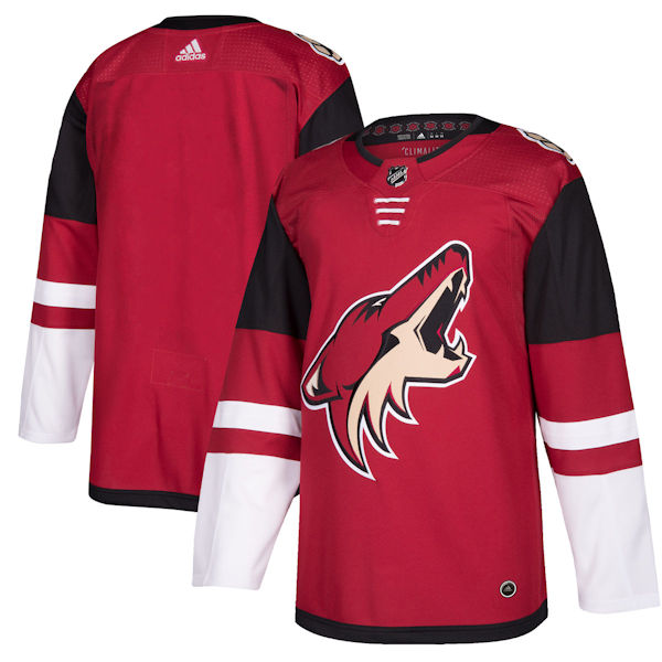 Pro Customized - ANY NAME - Adidas Authentic Arizona Coyotes Jersey - Home
