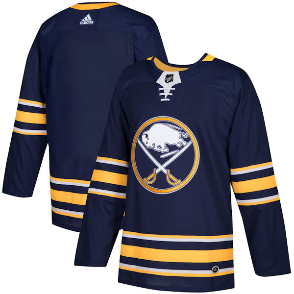 sports shoes 9f28e 78a63 Adidas Authentic Buffalo Sabres Jersey - Home