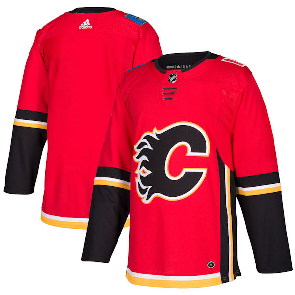 Adidas Authentic Calgary Flames Jersey - Home