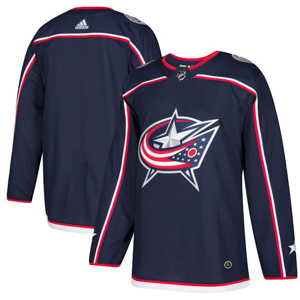 Adidas Authentic Columbus Blue Jackets Jersey - Home