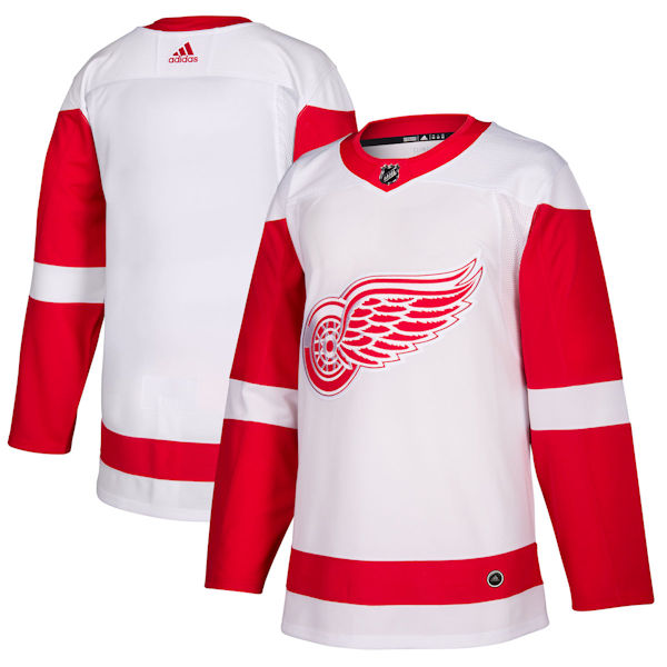 Pro Customized - ANY NAME - Adidas Authentic Detroit Red Wings Jersey - Away