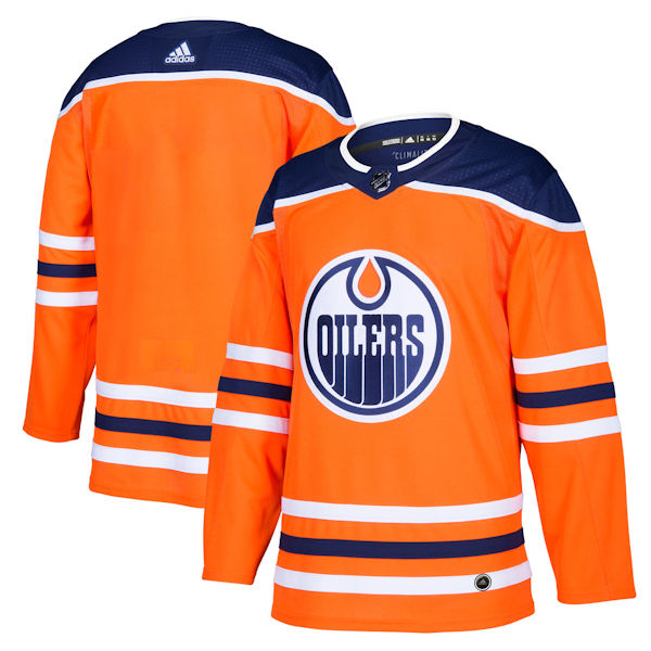 reputable site dd244 7bdaf Adidas Authentic Edmonton Oilers Jersey - Home