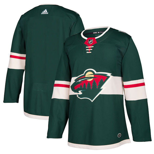 Pro Customized - ANY NAME - Adidas Authentic Minnesota Wild Jersey - Home