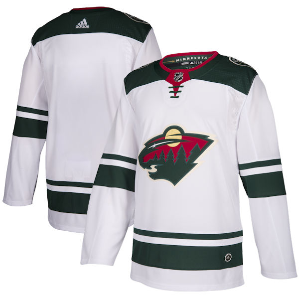 Adidas Authentic Minnesota Wild Jersey - Away 9aee836cec4