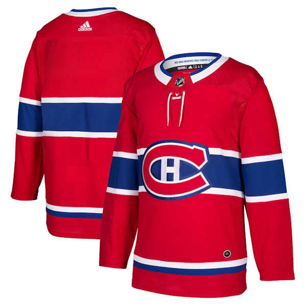 sale retailer 6ca50 2c2df Adidas Authentic Montreal Canadiens Jersey - Home