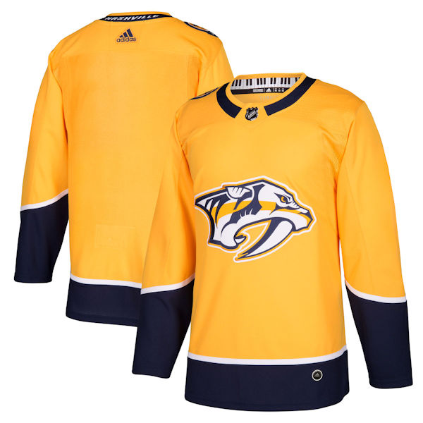 Adidas Authentic Nashville Predators Jersey - Home