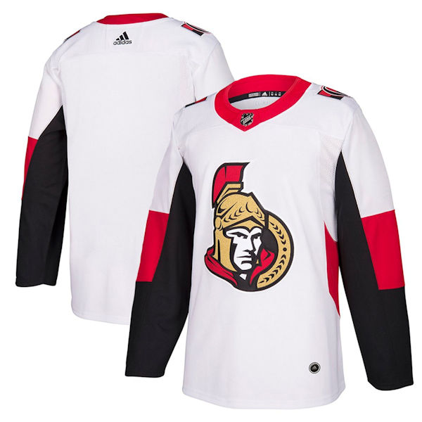 new arrival 0d29e e6b55 Adidas Authentic Ottawa Senators Jersey - Away