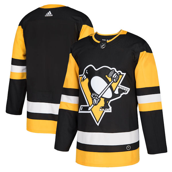 Pro Customized - ANY NAME - Adidas Authentic Pittsburgh Penguins Jersey - Home