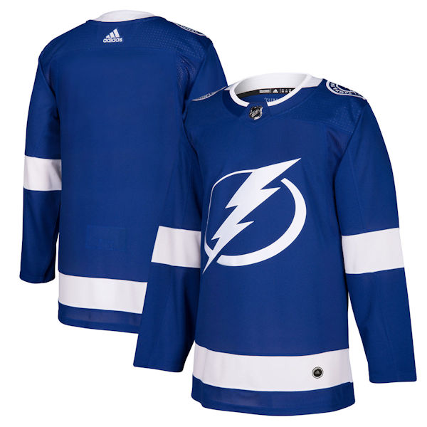 Pro Customized - ANY NAME - Adidas Authentic Tampa Bay Lightning Jersey - Home