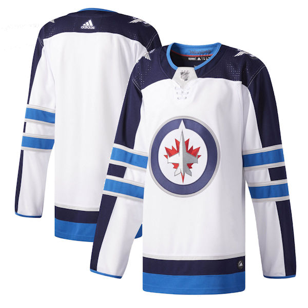reputable site 34533 95775 Adidas Authentic Winnipeg Jets Jersey - Away
