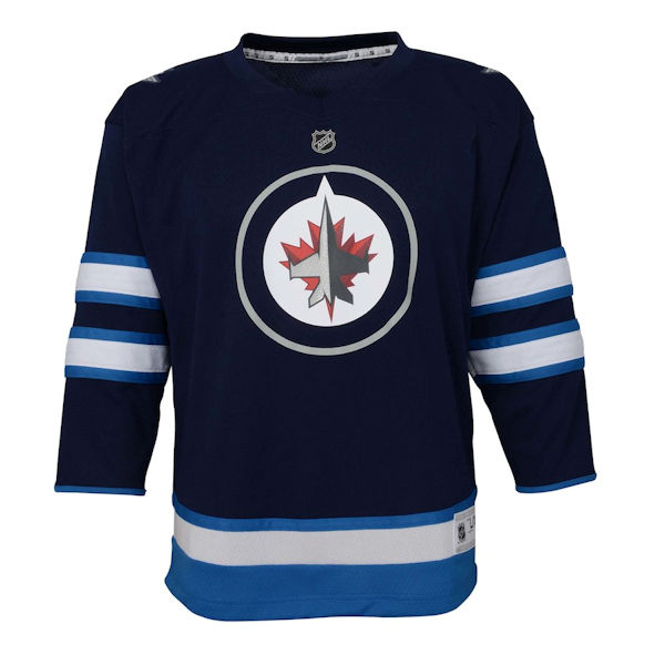 Winnipeg Jets Youth Replica Jersey - Home 8ae6bce4a