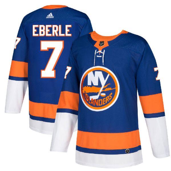 reputable site c6c0b d244b Pro Customized - #7 Jordan Eberle - Adidas Authentic New York Islanders  Jersey - Home
