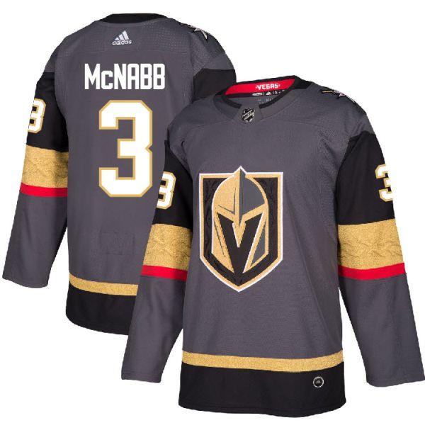 Pro Personalisé #3 Brayden McNabb Chandail Vegas Golden Knights Adidas Authentique Local