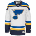 St. Louis Blues Jersey - RBK Premier - White