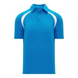A1820 Apparel Polo Shirt - Pro Blue/White