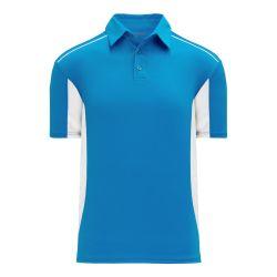A1825 Apparel Polo Shirt - Pro Blue/White