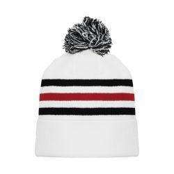 A1830 Hockey Toque - Chicago White