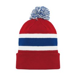 A1830 Hockey Toque - Montreal Red