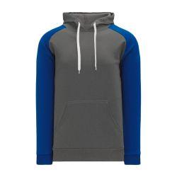 A1840 Apparel Sweatshirt - Heather Charcoal/Royal
