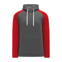 A1840 Apparel Sweatshirt - Heather Charcoal/Red
