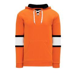 A1845 Apparel Sweatshirt - Orange/Black/White