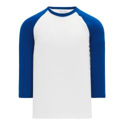 A1846 Apparel Short Sleeve Shirt - White/Royal