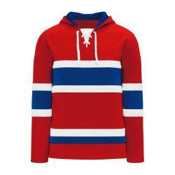 A1850 Apparel Sweatshirt - Montreal Red