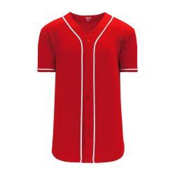 BA5500 Full Button Baseball Jersey - Cincinatti Red/White