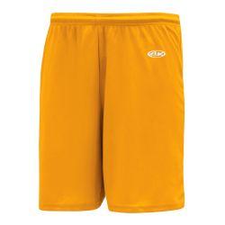 BAS1300 Baseball Shorts - Gold