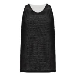 BR1302 League Basketball Jersey - Black/White