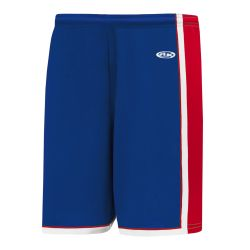 BS1735 Pro Basketball Shorts - Royal/Red/White