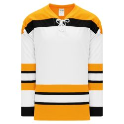 H550BK Pro Hockey Jersey - Vintage Boston White