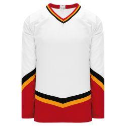 H550BK Pro Hockey Jersey - New Calgary 3rd White