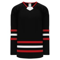 H550B Pro Hockey Jersey - New Chicago 3rd Black