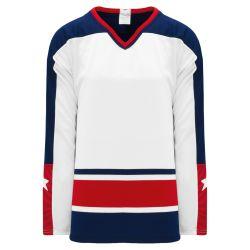 H550BK Pro Hockey Jersey - Columbus White