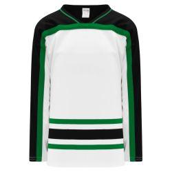 H550BK Pro Hockey Jersey - Dallas White