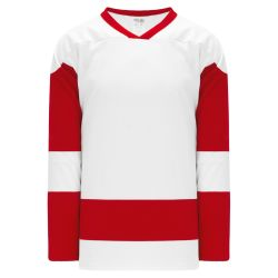 H550BK Pro Hockey Jersey - Detroit White