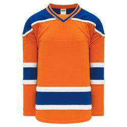 H550B Pro Hockey Jersey - New 2015 Edmonton 3rd Orange