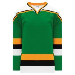H550BK Pro Hockey Jersey - Minnesota Kelly With Black Stripe