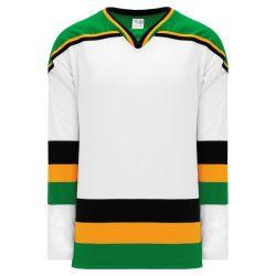 H550BK Pro Hockey Jersey - Minnesota White With Black Stripe