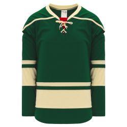 H550B Pro Hockey Jersey - 2009 Minnesota 3rd Dark Green