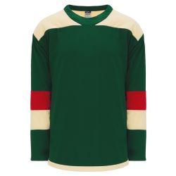 H550B Pro Hockey Jersey - 2016 Minnesota Stadium Series Dark Green