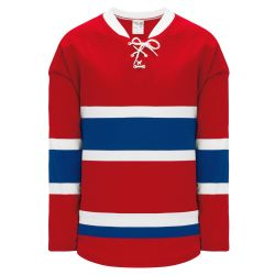 H550BK Pro Hockey Jersey - 2015 Montreal Red