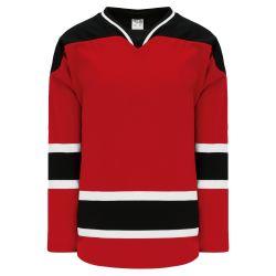 H550BK Pro Hockey Jersey - 2007 New Jersey Red