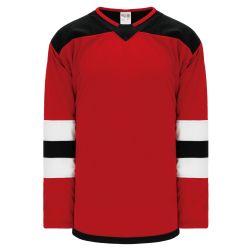 H550B Pro Hockey Jersey - 2017 New Jersey Red