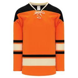 H550BK Pro Hockey Jersey - 2012 Philadelphia Winter Classic Orange