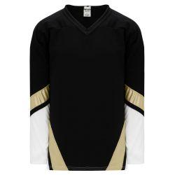 H550B Pro Hockey Jersey - New Pittsburgh 3rd Black