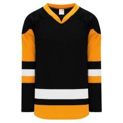 H550BK Pro Hockey Jersey - 2014 Pittsburgh 3rd Black