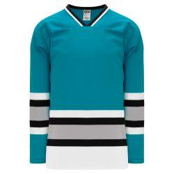 H550BK Pro Hockey Jersey - San Jose Teal