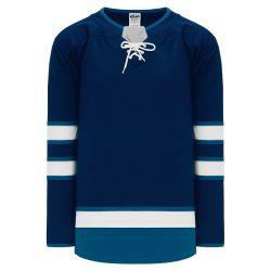 H550B Pro Hockey Jersey - 2017 Winnipeg Navy